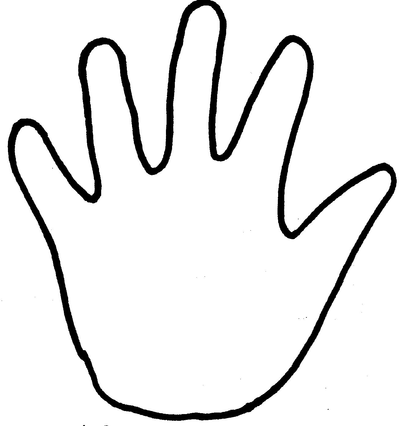 Handprint clipart helping hand Coloring Posts Helping com Coloring