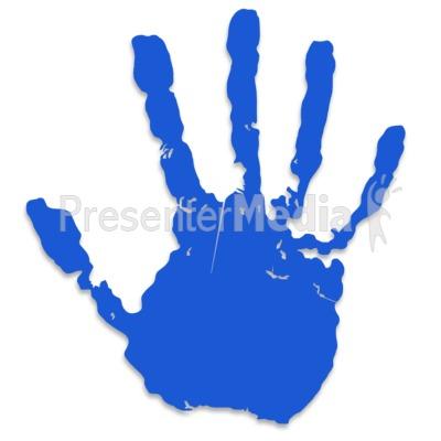 Handprint clipart high five #8
