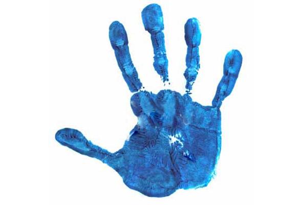 Handprint clipart human Handprint Clip Images Outline Art