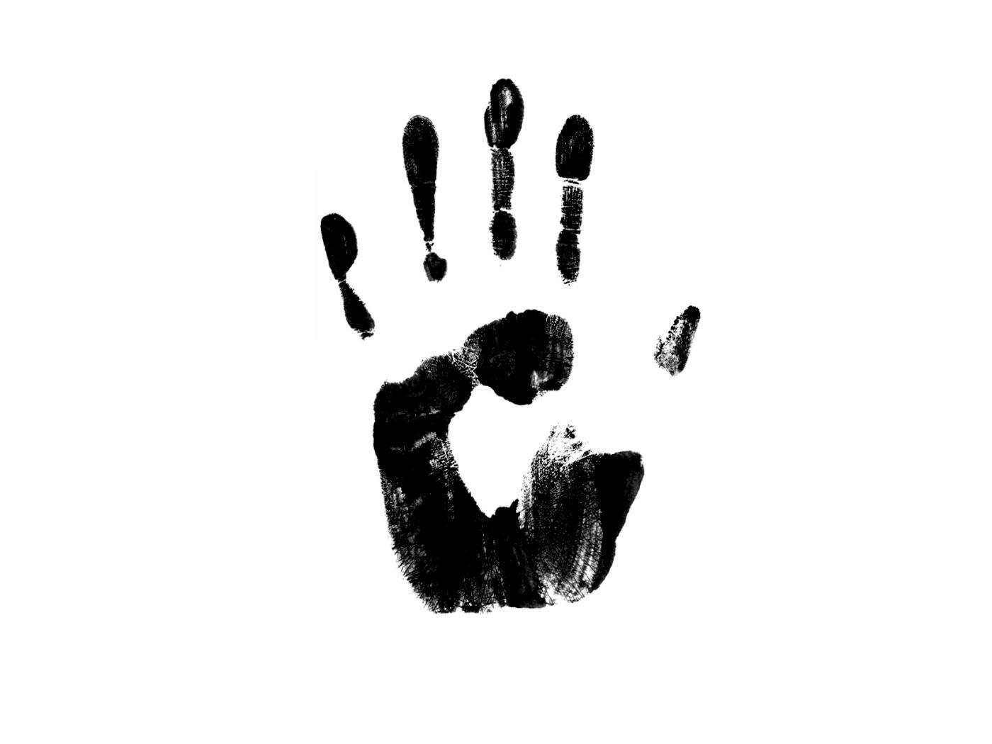 Handprint clipart left right Suggest Left Print Hand Print