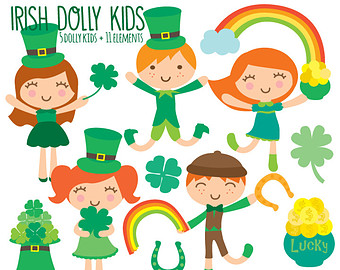 Handprint clipart leprechaun Kids Clip St art Clipart