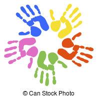 Handprint clipart love Images clip handprints art and