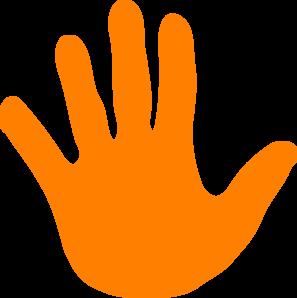 Handprint clipart massage hand Hand clip print Left Art