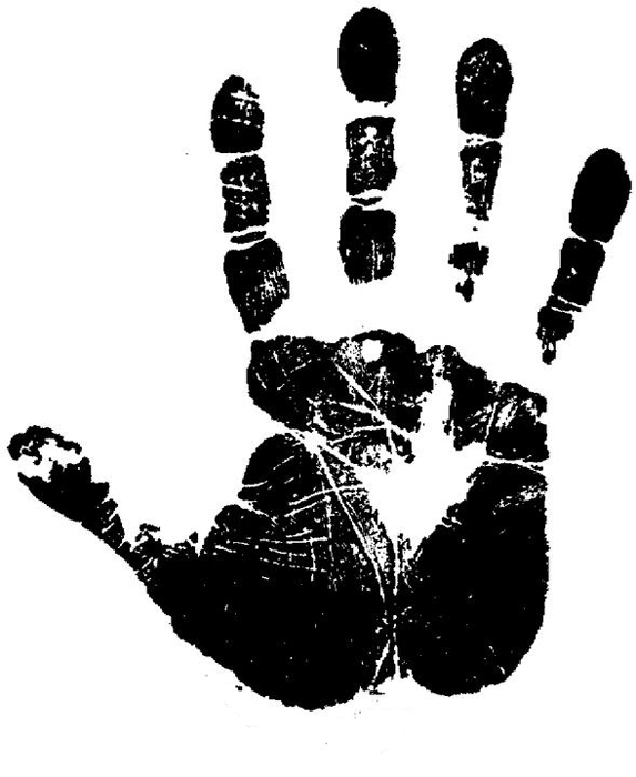 Handprint clipart massage hand Print print Multicultural?  for