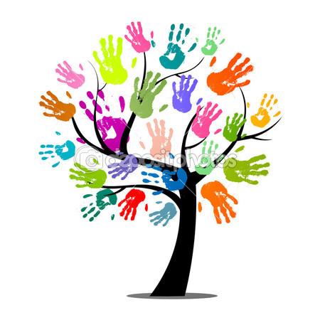 Handprint clipart massage hand Print C at Friendship to