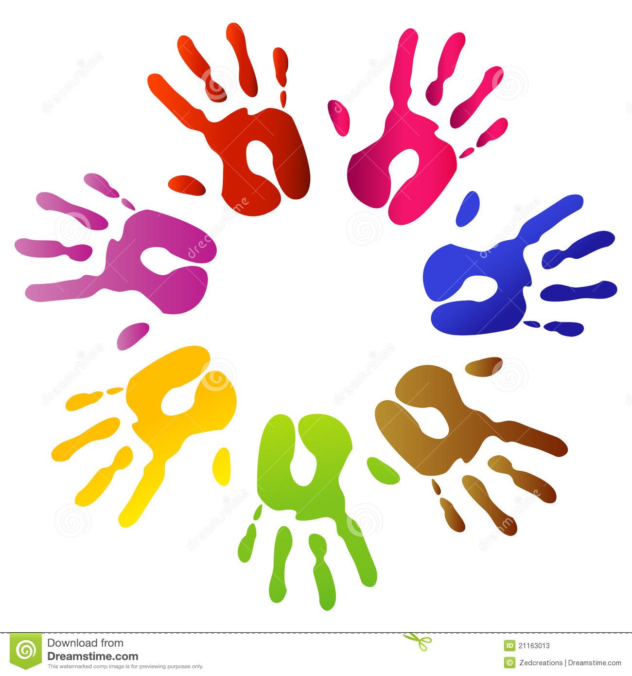 Handprint clipart palestine Clipart Print Handprints Masteri Family