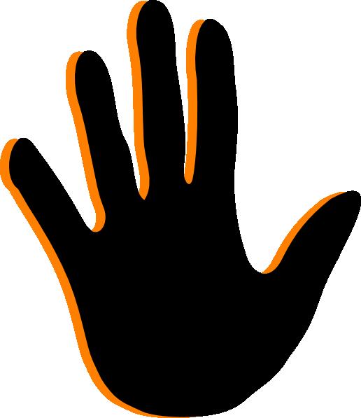 Handprint clipart pink Clip com  Handprint image