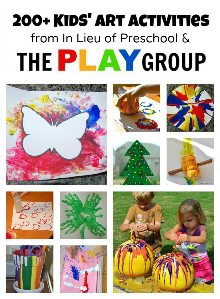 Handprint clipart colored Kids PLAY of Activities Preschool