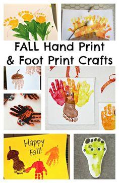 Handprint clipart playgroup Creating their Make A foot