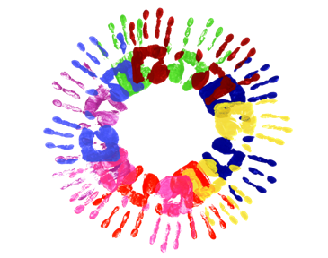 Handprint clipart playgroup Monday to Friday MUC Playgroup