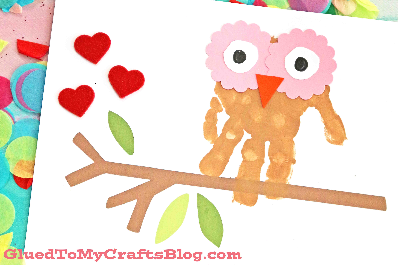 Handprint clipart preschool Clip Handprint Valentine&Day Printable Valentine&Day