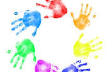 Handprint clipart preschool Handprint Panda Clipart Clipart Preschool