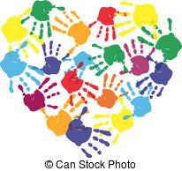 Handprint clipart preschool Art clipart Clipart Handprint &