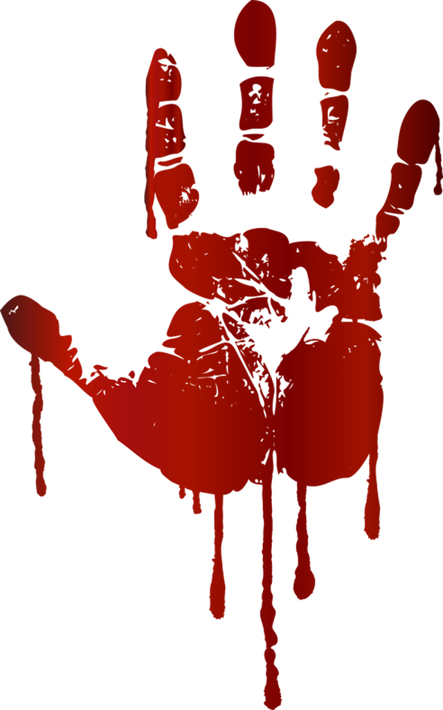 Spooky clipart hand Kids handprint Kids png Cliparts