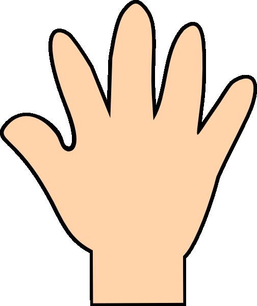Handprint clipart right hand Online Hand  Art at