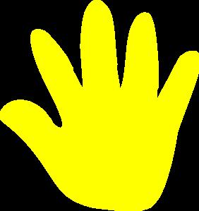 Handprint clipart right hand  Hand clipart Clipart Handprint