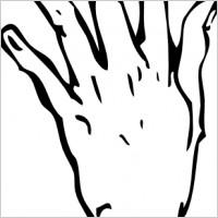 Handprint clipart right hand Art Free Clipart Hand Clip