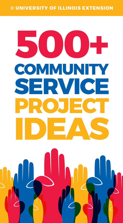 Handprint clipart service project #8