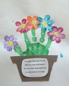 Handprint clipart service project #2