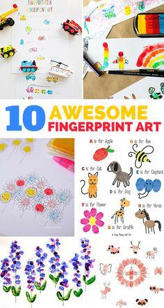 Handprint clipart service project #3
