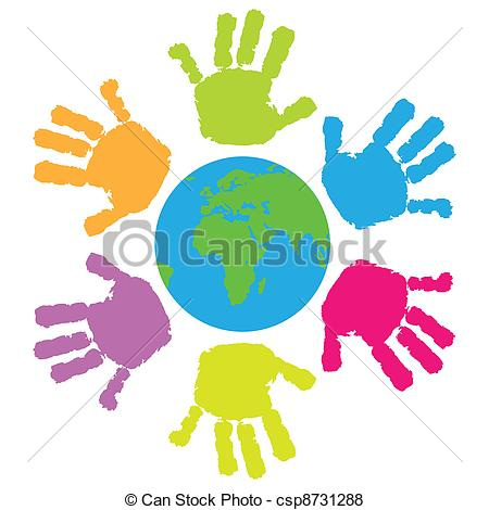 Handprint clipart toddler Images Free Clipart Baby Clipart