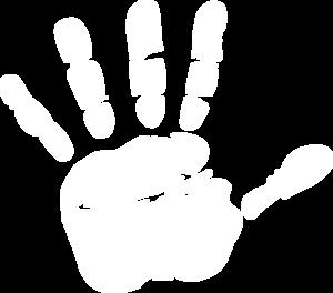 Handprint clipart transparent Online Art clip Clker Clip