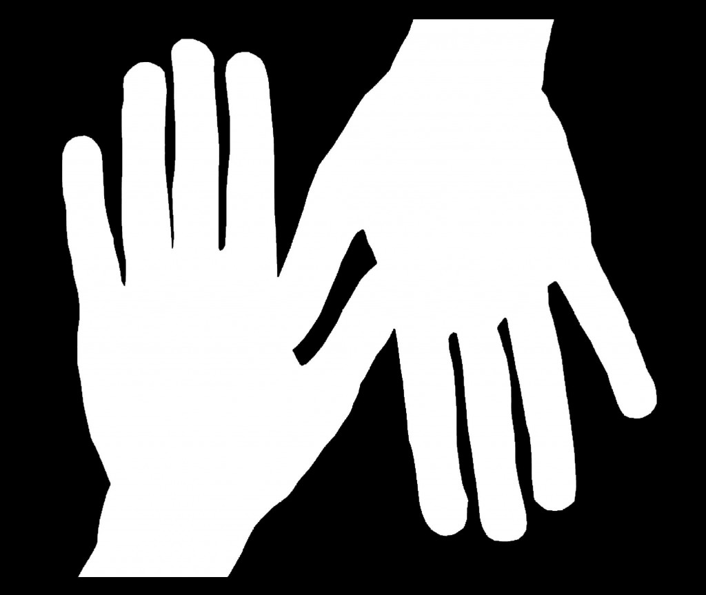 Handprint clipart two hand Praying com Clipartion Outline Hands