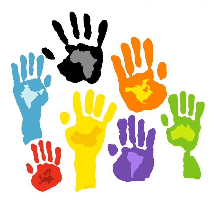 Handprint clipart unity hand logo On 7 Design] and best