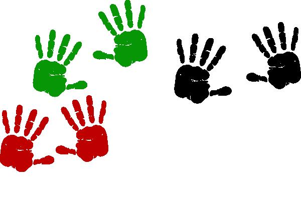Handprint clipart vector Clip art Handprints Hand Palestinian