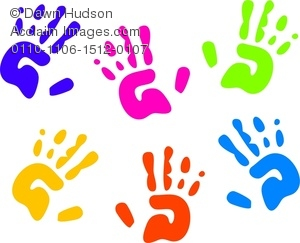 Handprint clipart yellow Handprint Clipart Kids kids%20handprint%20clipart Free