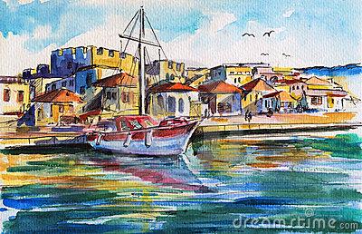 Harbor clipart Art Art Clip Clipart Download