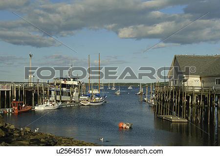 Harbor clipart bay Harbor Rockland Bay Maine Penobscot
