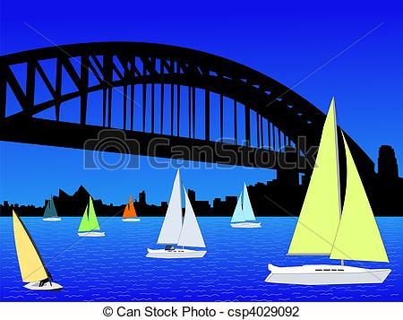 Harbor clipart harbour Sydney  Sydney Clip Yachts