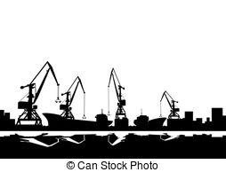 Harbor clipart port Clip clipart 066  Illustrations