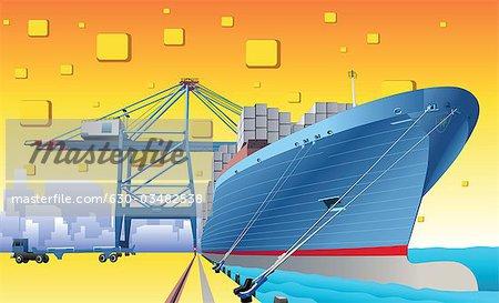 Harbor clipart port Port Clipart art clip Download