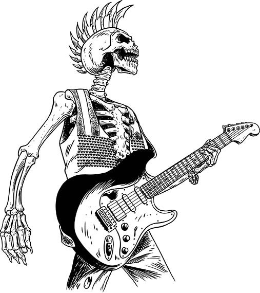 Heavy Metal clipart hard rock #15