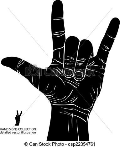 Hard Rock clipart N Vector n on rock