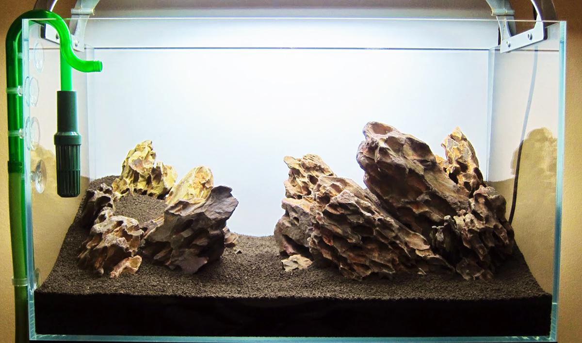 Hard Rock clipart aquarium stone Love planted aquarium Aquarium Substrate