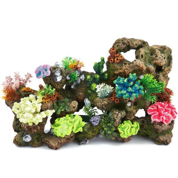 Hard Rock clipart aquarium stone & Corals Tank Aquarium Decorations