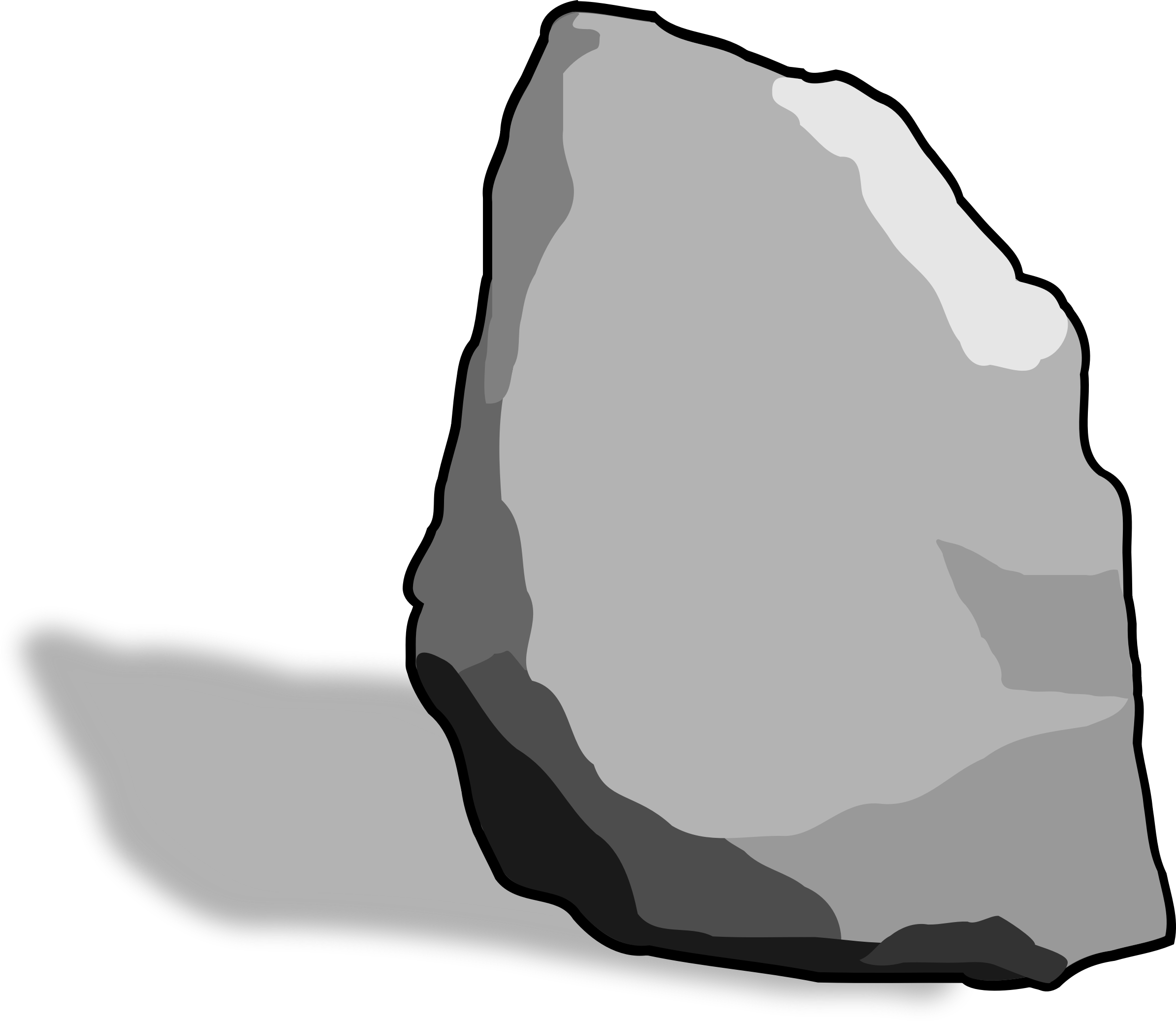 Hard Rock clipart big rock Art Clip Art Rock Clipart