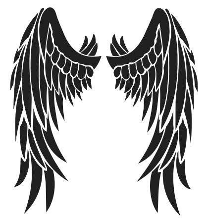 Wings clipart demon wings Devil Tribal Best Feather Tattoo