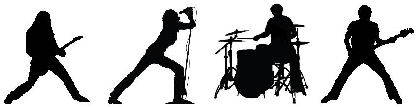 Hard Rock clipart live band #11