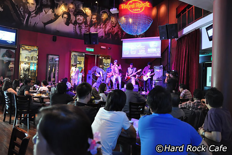 Hard Rock clipart live band #1