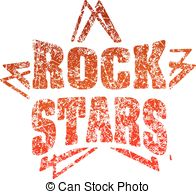 Hard Rock clipart live music Art Live red hard style