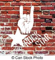Hard Rock clipart live music Art Live gesture hard symbol