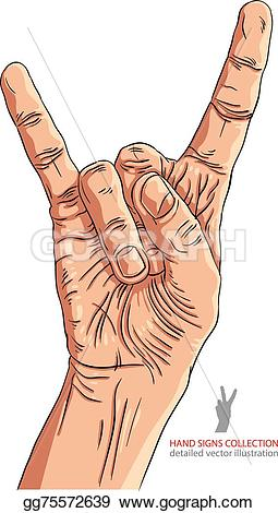 Hard Rock clipart pebble Illustration gg75572639 music hard rock