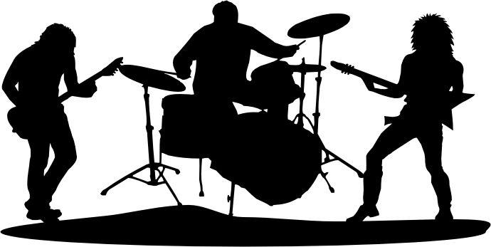 Hard Rock clipart rock singer #4
