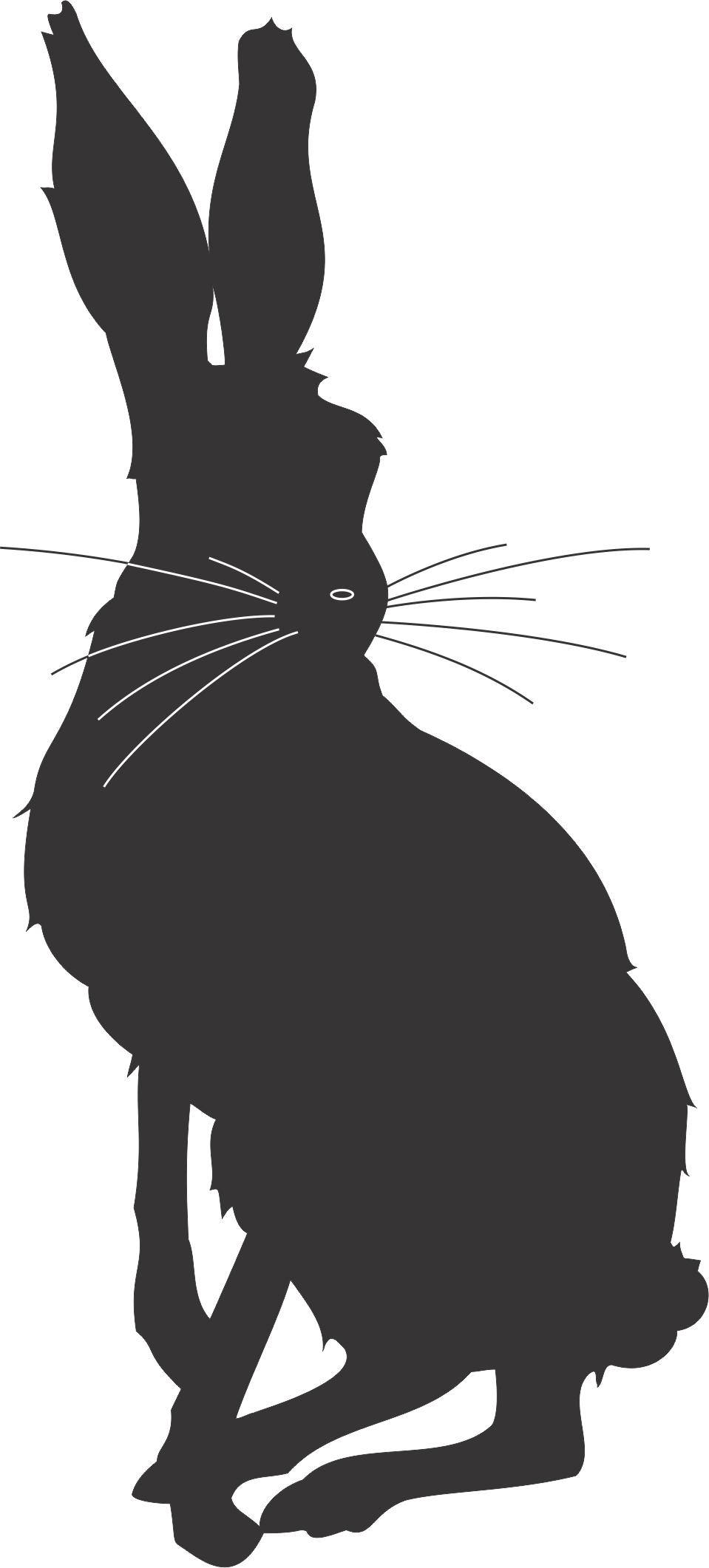 Hare clipart silhouette Jpg cartoon 122 959×2 Fun