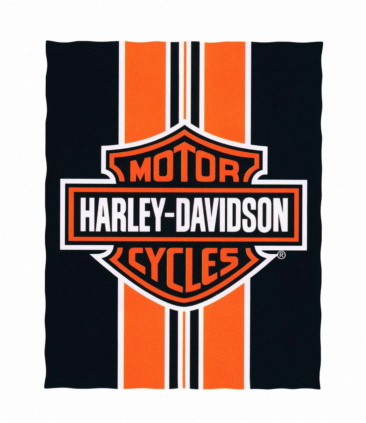 Harley Davidson clipart 95th anniversary Striped Harley and Pinterest Logo
