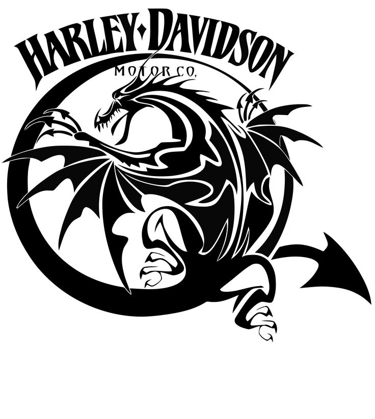 Harley Davidson clipart logo art Pinterest best vinyl airbrush about